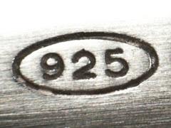 328f6f13fb punzone argento Per determinare il titolo di un oggetto occorre analizzare  il punzone, ossia il marchio identificativo dell'oggetto. I titoli di 800 e  925 ...